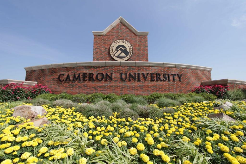 Cameron University - Campus Sign
