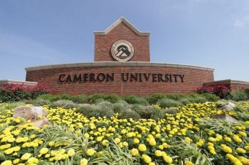 Cameron University - Campus Sign
