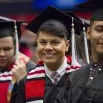 Oklahoma Reach Higher students graduating from Oklahoma City Community College (OCCC).