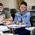 Oklahoma Reach Higher students from Cameron University.