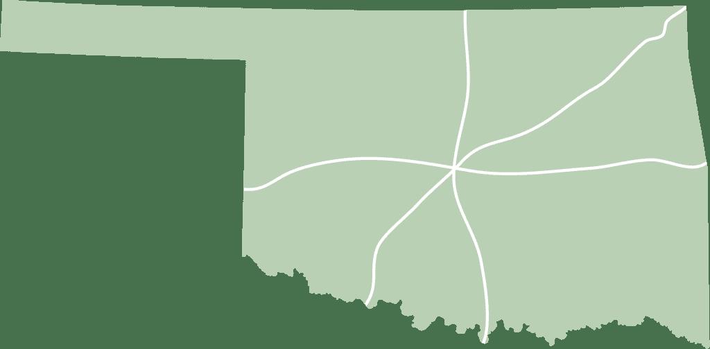 Oklahoma FlexFinish Map